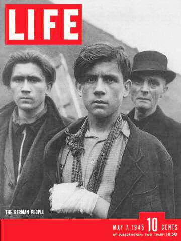 Cover of Life Magazine, May 7, 1945