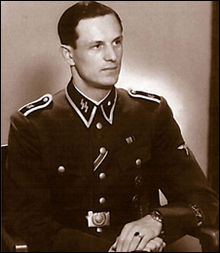 Rochus Misch, one of Hitler's body guards