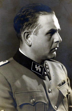 Amon Goeth in his SS uniform