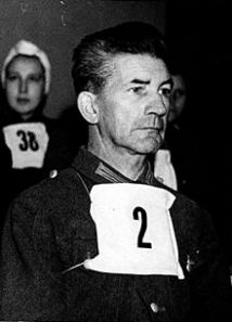 Dr. Fritz Klein was put on trial by the British for his crime of selecting prisoners for the gas chamber at Auschwitz