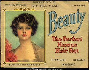 Advertisement for human hair nets
