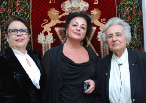 Anita Lasker Wallfisch is the woman on the right