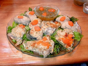 Gefilte fish, which is denied to Holocaust survivors in Israel