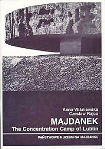 Book Cover of 1997 book about Majdanek