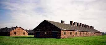 Brick buildings at Auschwitz-Birkenau are deteriorating