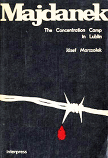 Cover of Majdanek Guidebook, published in 1986