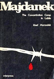 Cover of Majdanek Guidebook, published in 1986
