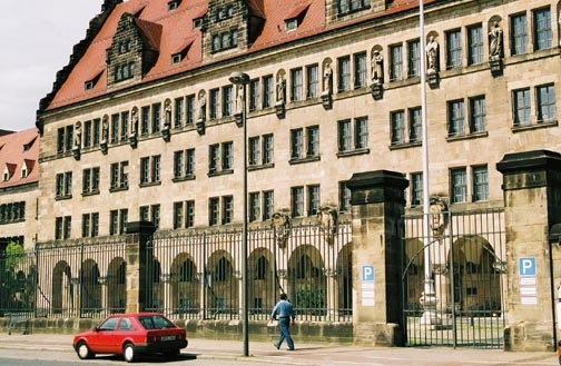 The building where the Nuremberg IMT took place