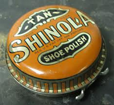 The most popular brand of shoe polish was Shinola