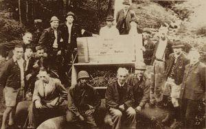 Altaussee salt mine where German art was stored
