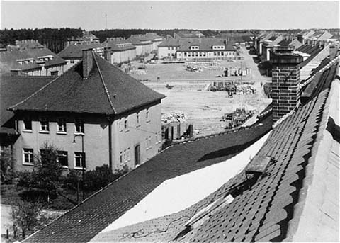 German Army garrison where Bergen-Belsen survivors lived for 5 years