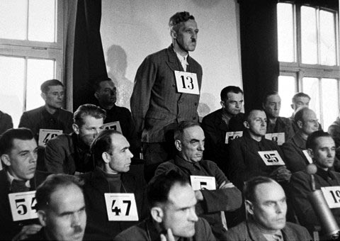 August Eigruber was put on trial by the American Military Tribunal