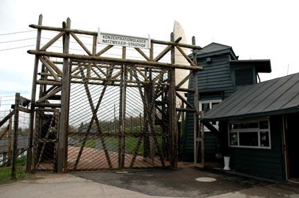 Entrance into Natzweiler concentration camp