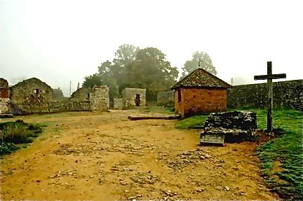 The tragic well where bodies of German soldiers were found in Oradour-sur-Glane