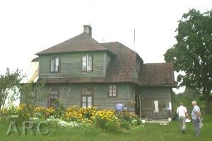 The Commandant's house at Sobibor death camp