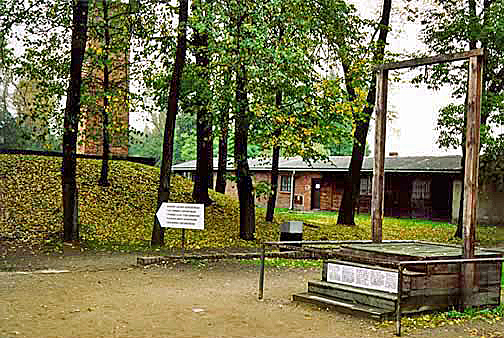 Auschwitz office building is right next to the alleged gas chamber