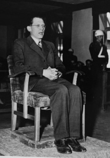 Eugen Kogon testified for the prosecution at the Buchenwald trial in 1947