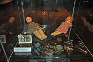 Exhibit in Majdanek Museum Photo Credit: José Ángel