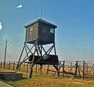 Guard  tower at Majdanek memorial site Photo Credit: José Ángel