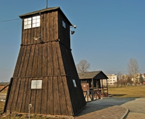 Guard tower at Majdanek Photo Credit: José Ángel