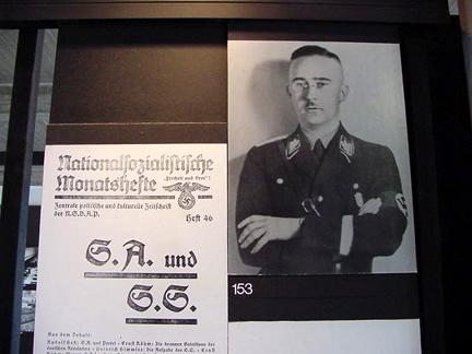 Poster in Dachau Museum in 1997