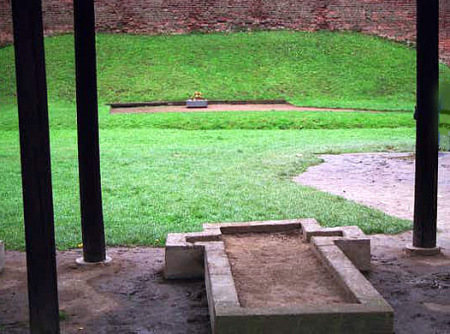 Firing range at Terezin