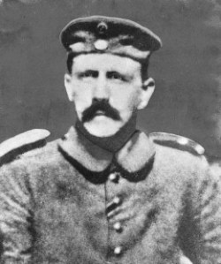 Hitler as a soldier in World War I