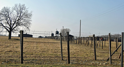 "Majdanek ""death camp"" in Poland"