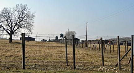 "Majdanek ""death camp"" in Poland"