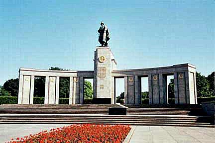 "The monument to the Russian ""liberators"" of Berlin"