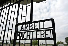 Arbeit Macht Frei gate at Sachsenhausen camp