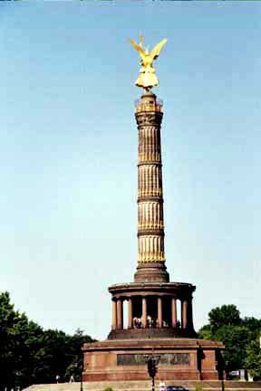 Monument in Berlin in  honor of German victory over France in 1871