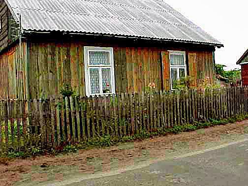 House near the Treblinka camp