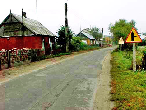 Road to Treblinka death camp