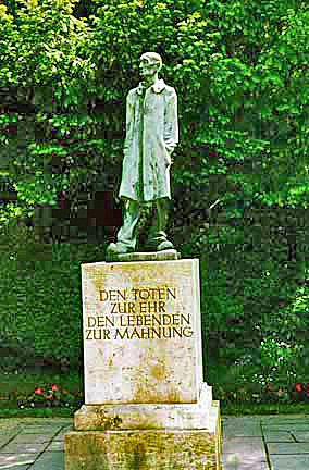 Statue of the Unknown Prisoner at Dachau