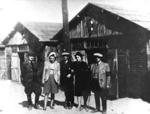 Women who were selected to work at Belzec