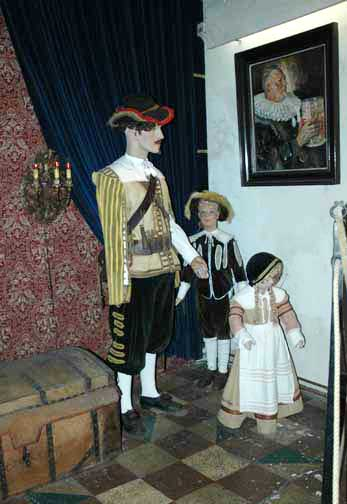 Exhibit in Rothenburg Museum