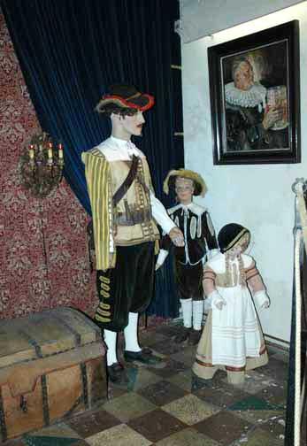 Exhibit in Rothenburg Museum