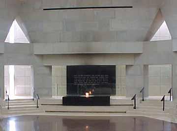 Inside the Holocaustianity church in Washington, DC