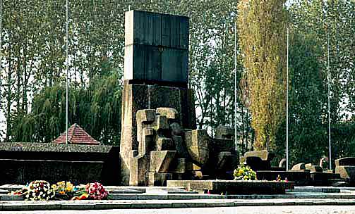 International Monument at Auschwitz-Birkenau