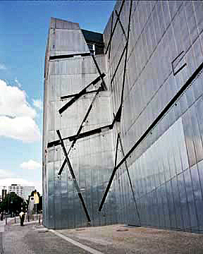 Jewish Museum in Berlin designed by Daniel Liebeskind
