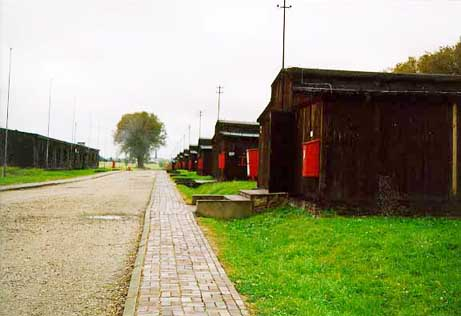 Several barracks buildings were converted into  Museum