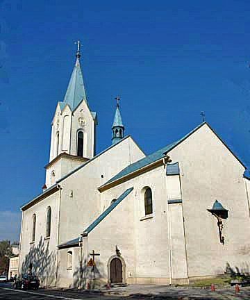 Catholic church in Oswiecim