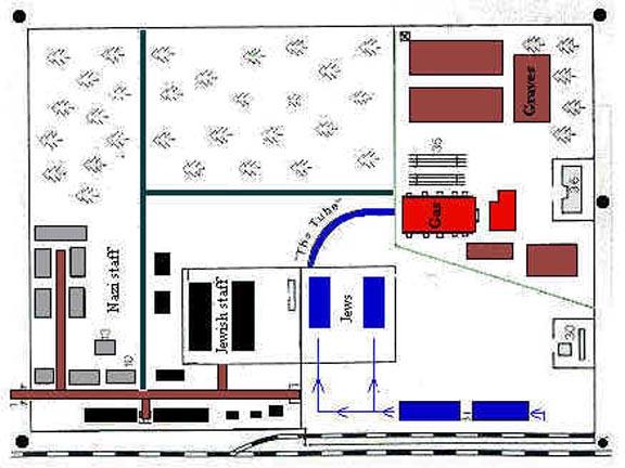 Map of the Treblinka Camp