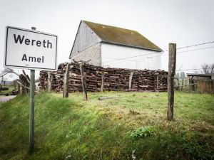 The hamlet of Wereth in Belgium