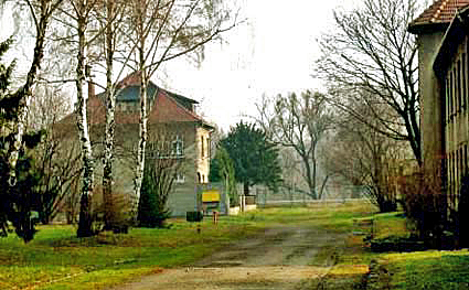 House where Rudolf Hoess and his family lived at the main Auschwitz camp