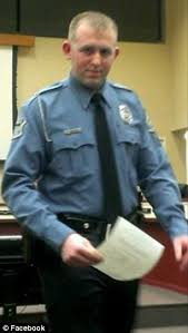 Darren Wilson the white police officer who shot Michael Brown