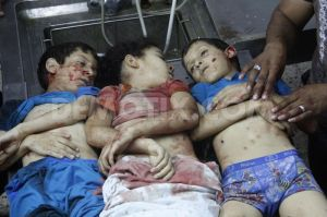 Three children in the same family killed by Israelis in Gaza