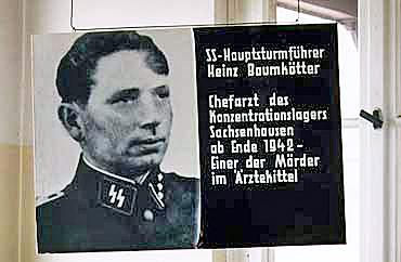 Doctor at Sachsenhausen camp