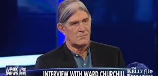 Ward Churchill as seen in his interview with Megyn Kelly